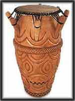 image african drums art africa