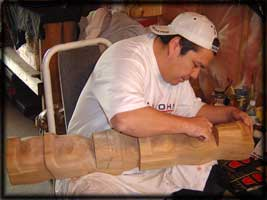 northwest indian art carver gary baker