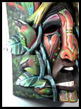 image costa rica tribal masks native mask costa rica boruca