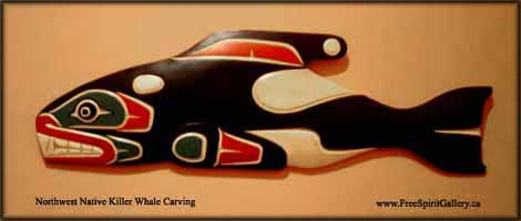 free ecard northwest native american art killer whale images pictures