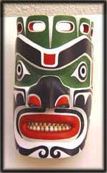 image west coast indian art mask tribal northwest native american