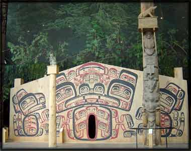 image Northwest Pacific Coast Native Indian Houses Long House Longhouses tsimshian