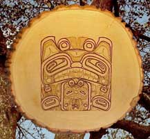 wolf mother northwest coast carvings