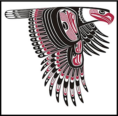 image northwest native canadian first nations artist todd baker eagle