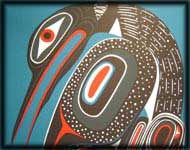 northwest indian art prints loon