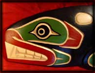 image northwest indian art indian carving killer whales