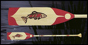image northwest indian art native carvings paddles