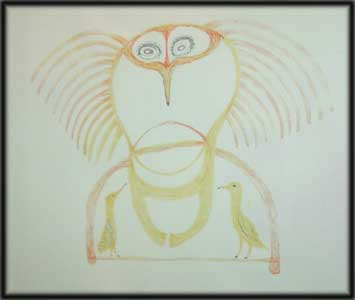 image inuit art drawings paintings prints birds